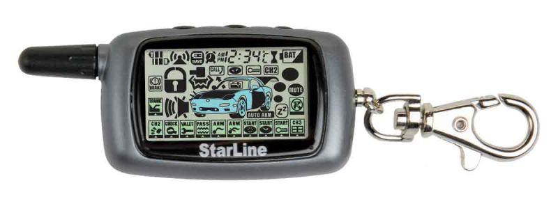 Инструкция Starline A9