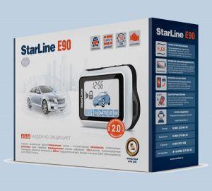 Автосигнализация StarLine E90 GSM